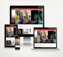 Kişisel Blog Sitesi Red v3.0